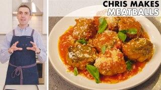 Chris Makes Meatballs