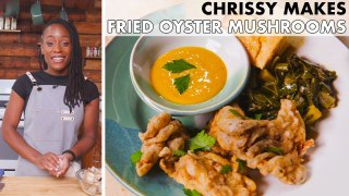 Chrissy Makes Fried Oyster Mushrooms
