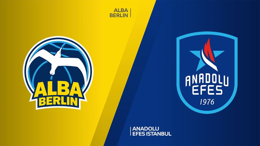 ALBA Berlin - Anadolu Efes Istanbul Highlights | Turkish Airlines EuroLeague, RS Round 3