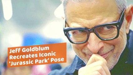 That One Jeff Goldblum Pose