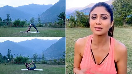 Watch: Shipa Shetty's Morning Yoga In Manali