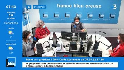 La matinale de France Bleu Creuse du 14/10/2020