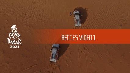 Recces video 1 - Dakar 2021