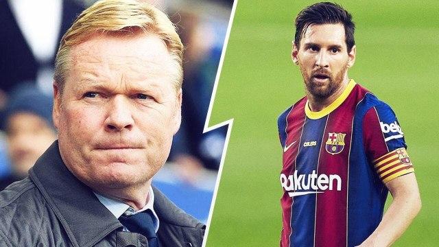 Koeman raconte la conversation houleuse qu'il a eue avec Messi après la vente de Suárez | Oh My Goal