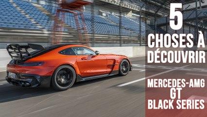 GT Black Series, 5 choses à savoir sur la plus puissante des Mercedes-AMG