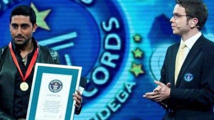Bollywood-News-Abhishek-Bachchan-Holds-a-Guinness-World-Record