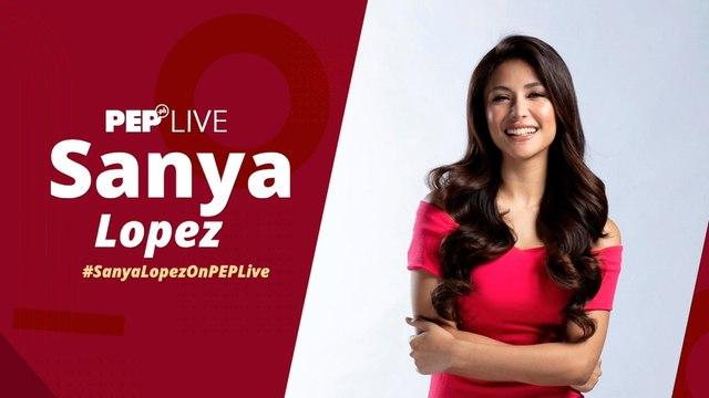 First Yaya Sanya Lopez on PEP Live!