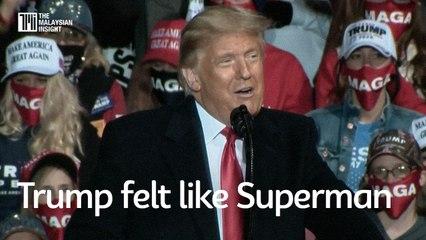 Experimental Covid-19 drug made Trump feel like 'Superman'