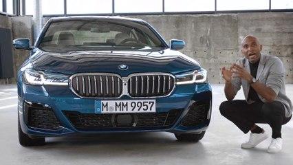 مراجعة سيارة BMW الفئة الخامسة صالون الجديدة