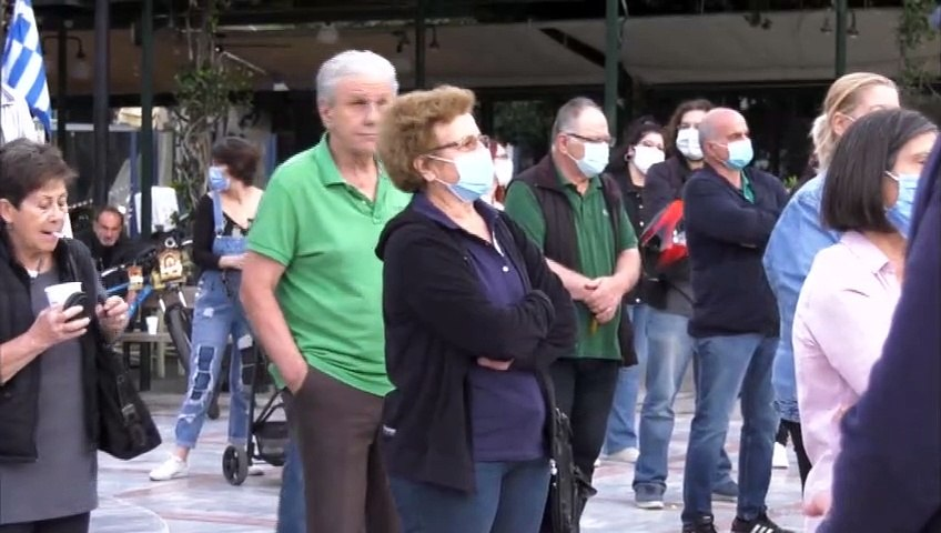 Συλλαλητήριο του εργατικού κέντρου Λαμίας για την υγεία, τη Λάρκο και την αντιπλημμυρική θωράκιση της Φθιώτιδας