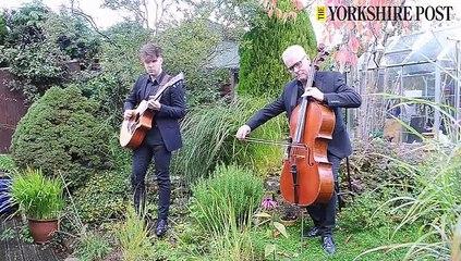 Cellist Andy Wardale