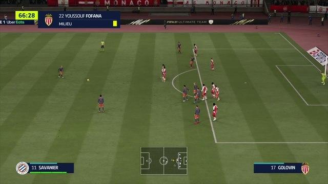 AS Monaco - Montpellier HSC : notre simulation FIFA 21 (L1 - 7e journée)