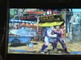 Street Fighter 4 Gameplay Guile + Abel