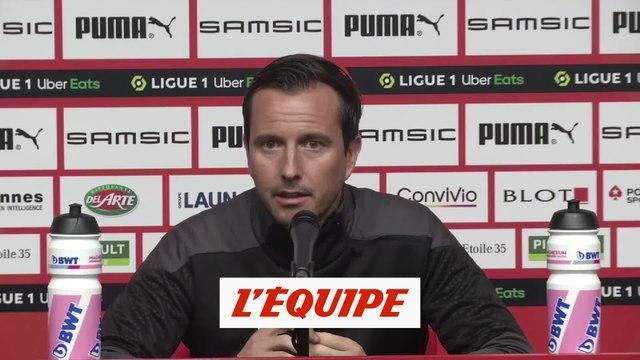 Stephan : Contre Dijon, «on a perdu les quatre dernières fois» - Foot - L1 - Rennes