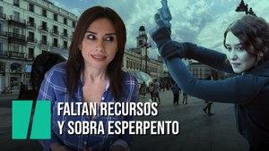 """""""Faltan recursos, sobra esperpento"""", por Marta Flich"""