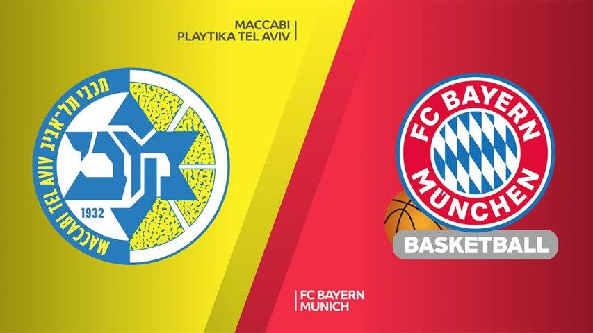 Maccabi Playtika Tel Aviv - FC Bayern Munich Highlights | Turkis Airlines EuroLeague, RS Round 3
