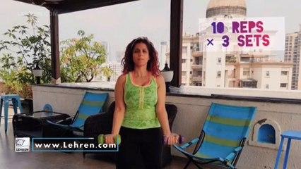 उर्मिला कोठारे सोबत Workout सेशन