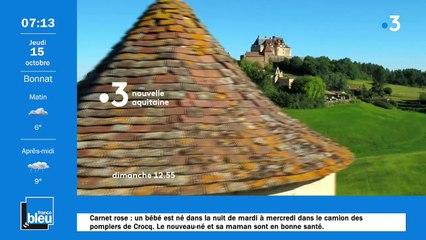 La matinale de France Bleu Creuse du 15/10/2020