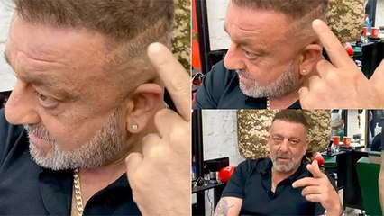 Sanjay Dutt Shows His Recent Scar From The Illness
