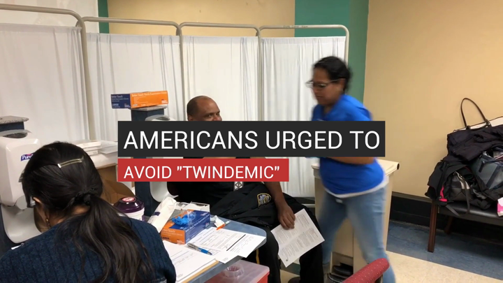 "Americans Urged to Avoid ""Twindemic"""