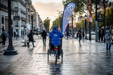 20 Minutes teste la distribution du journal à vélo