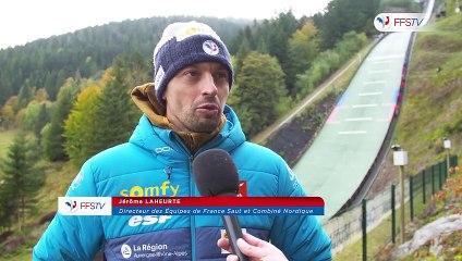 Reportage - Championnats de France de Saut à Ski et Combiné Nordique à Gérardmer