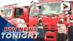 BFP acquires new emergency vehicles, fire trucks
