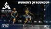 Squash: CIB Egyptian Squash Open 2020 - Women's QF Roundup [Pt.1]