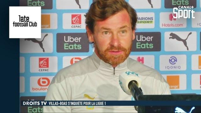 Droits TV : André Villas-Boas s'inquiète pour la Ligue 1 Uber Eats