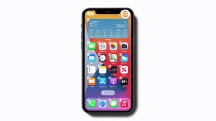 Comment ajouter des widgets à l'écran d'accueil de votre iPhone — Apple Support