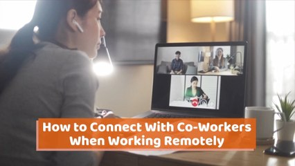 Connecting For Work At A Distance