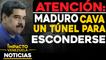Atención: Nicolás Maduro cava un túnel para esconderse    NOTICIAS VENEZUELA HOY octubre 16 2020