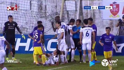 Highlights | HAGL - Hà Nội FC | Việt Anh, Thái Quý gieo sầu cho đội chủ nhà | VPF Media