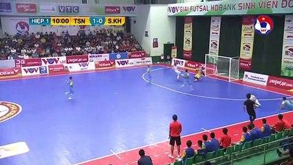 Highlights | Thái Sơn Nam - S. Sanna Khánh Hòa | Futsal HDBank VĐQG 2020 | VFF Channel