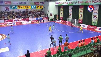 Highlights | Sahako - S. Sanatech Khánh Hòa | Futsal HDBank VĐQG 2020 | VFF Channel
