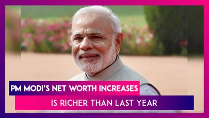 PM Narendra Modi's Net Worth Increases To Rs 2.85 Crore As Of June 2020, Is Richer Than Last Year