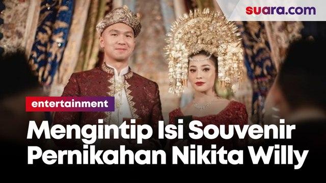 Mengintip Isi Souvenir Pernikahan Nikita Willy dan Indra Priawan