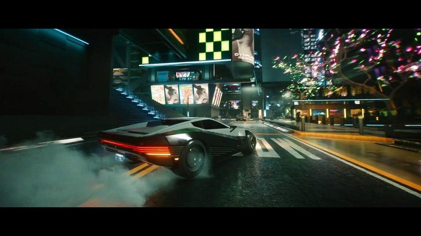 Cyberpunk 2077 - Trailer « Les véhicules du futur sombre »