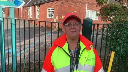 Bridget Bathe celebrates 25 years of crossing patrol