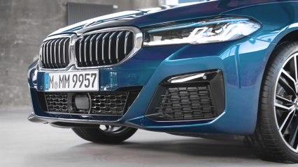 BMW الفئة الخامسة الجديدة - التصميم الخارجي