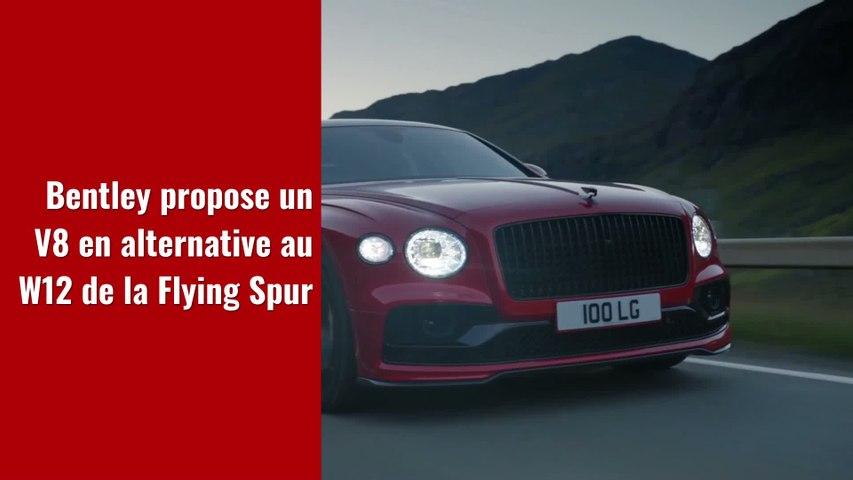 Bentley Flying Spur (2021) : nouveau moteur pour la limousine de luxe