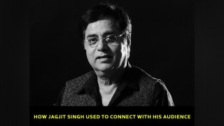 How Jagjit Singh used to connect with his audience
