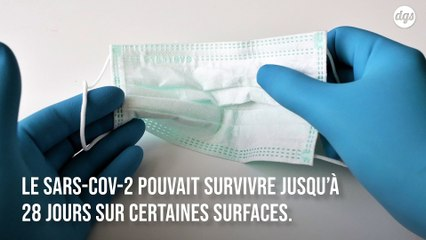 Le Covid-19 peut survivre jusqu'à 28 jours sur les surfaces, selon une étude