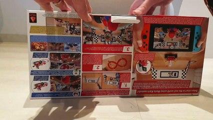 Mario Kart Live : Home Circuit (Switch), séance d' unboxing