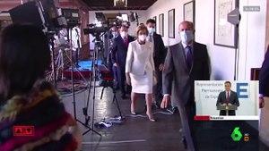 Esta es la respuesta de la reina Sofía a la pregunta de los periodistas sobre Juan Carlos I