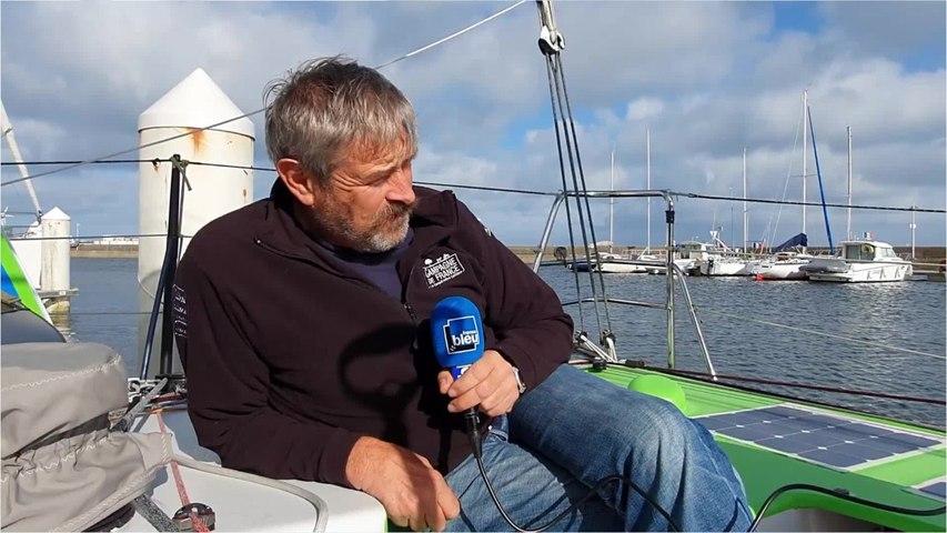 Vendée Globe 2020 - Halvard Mabire préparateur et skipper