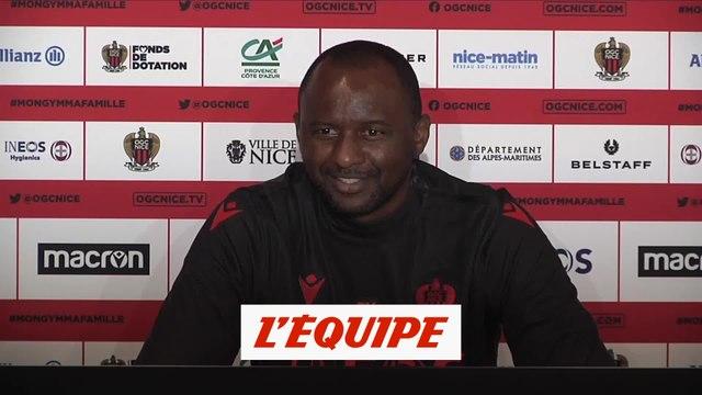 Vieira : «Je sens les joueurs excités» - Foot - L1 - Nice