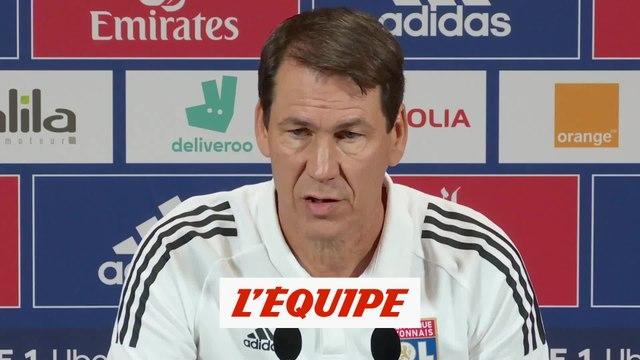 Garcia : «La suspension de Guimaraes est incompréhensible» - Foot - L1 - OL