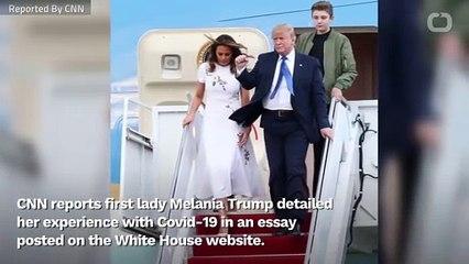 Melania Trump - Barron Also Had Covid-19
