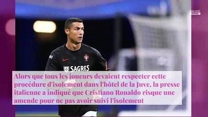 Cristiano Ronaldo testé positif au Covid-19 : a-t-il enfreint les règles sanitaires ?